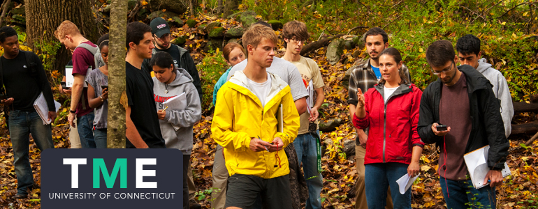 Page header: students outdoors