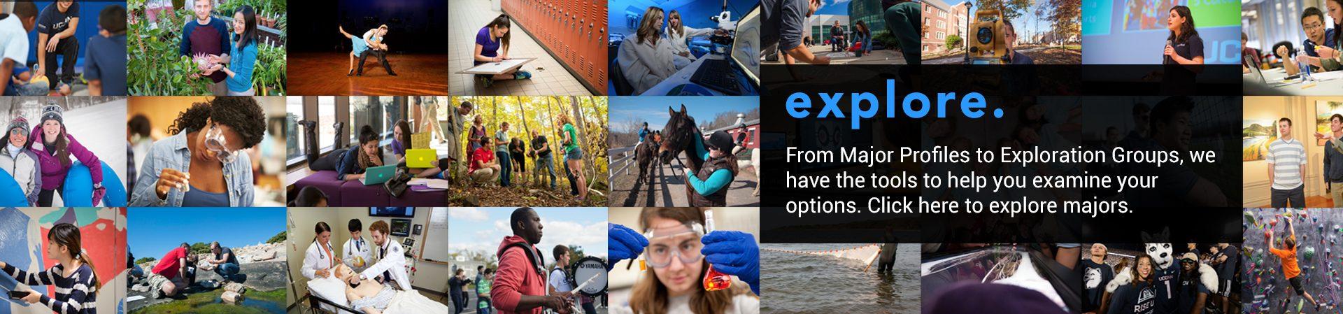 explore majors