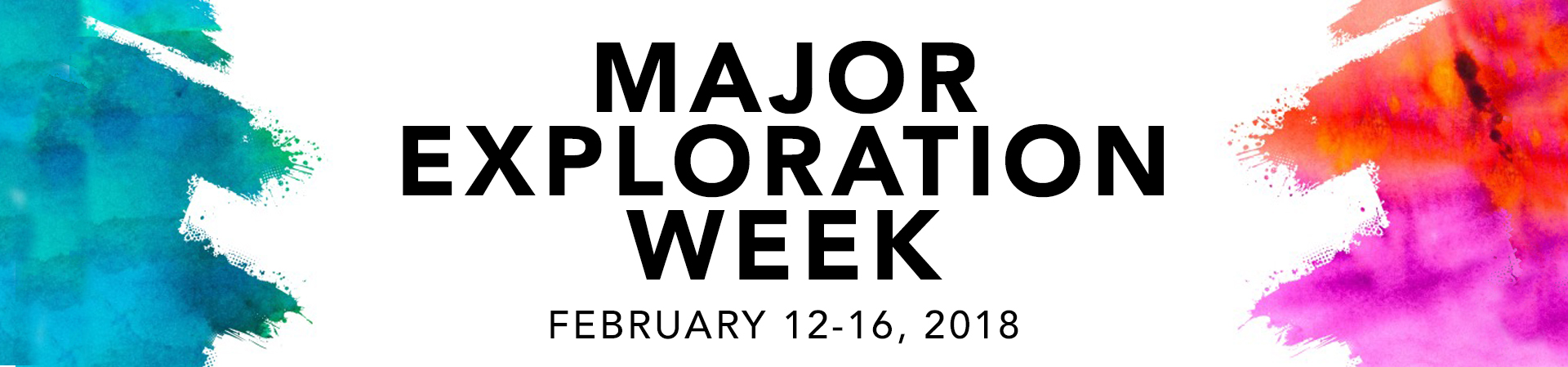 Major exploration week