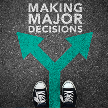 Making Major Decisions course